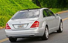 Обои автомобили Mercedes-Benz S400 HYBRID - 2010