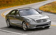 Обои автомобили Mercedes-Benz S550 - 2010