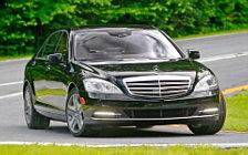 Обои автомобили Mercedes-Benz S600 - 2010
