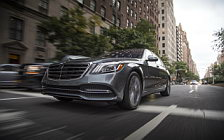 Обои автомобили Mercedes-Benz S 450 4MATIC US-spec - 2017