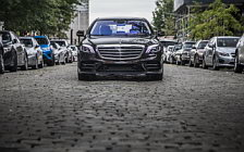 Обои автомобили Mercedes-Benz S 560 4MATIC AMG Line US-spec - 2017