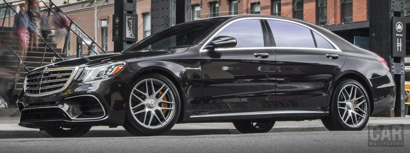 Обои автомобили Mercedes-AMG S 63 4MATIC+ US-spec - 2017 - Car wallpapers