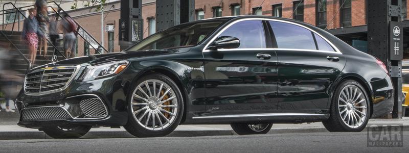 Обои автомобили Mercedes-AMG S 65 US-spec - 2017 - Car wallpapers
