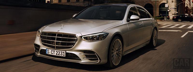 Обои автомобили Mercedes-Benz S-class AMG Line US-spec - 2020 - Car wallpapers