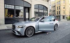 Обои автомобили Mercedes-Benz S-class AMG Line US-spec - 2020