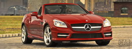 Mercedes-Benz SLK350 AMG Sports Package US-spec - 2012