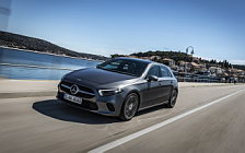 Обои автомобили Mercedes-Benz A 200 Progressive - 2018
