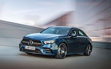 Обои автомобили Mercedes-AMG A 35 4MATIC Sedan - 2019