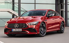 Обои автомобили Mercedes-AMG GT 43 4MATIC+ 4-Door Coupe - 2018