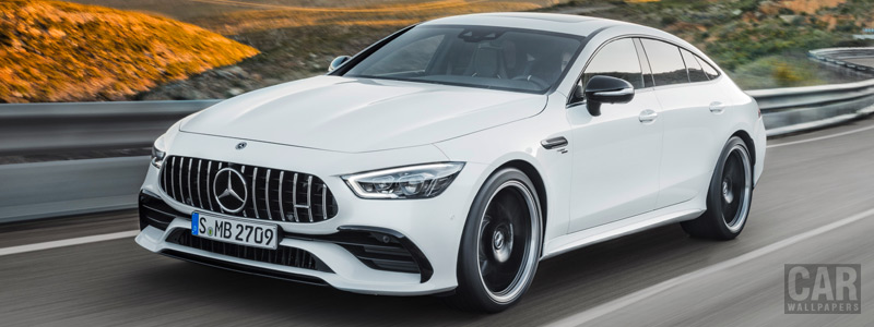 Обои автомобили Mercedes-AMG GT 53 4MATIC+ 4-Door Coupe - 2018 - Car wallpapers