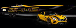 Mercedes-AMG GT S and Cigarette 50 Marauder - 2015