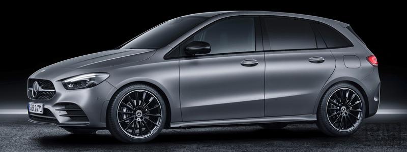 Обои автомобили Mercedes-Benz B-class AMG Line - 2019 - Car wallpapers