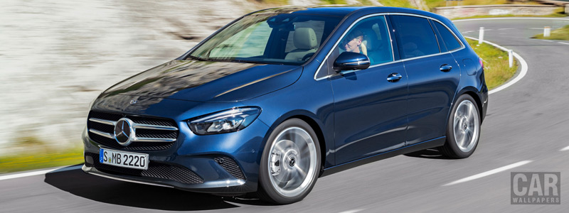 Обои автомобили Mercedes-Benz B-class - 2019 - Car wallpapers