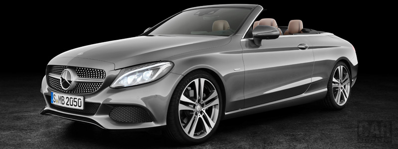 Обои автомобили Mercedes-Benz C 220 d 4MATIC Cabriolet Edition 1 - 2016 - Car wallpapers