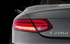 Обои автомобили Mercedes-Benz C 220 d 4MATIC Cabriolet Edition 1 - 2016