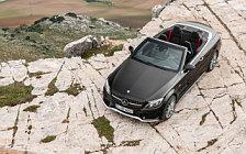 Обои автомобили Mercedes-AMG C 43 4MATIC Cabriolet - 2016