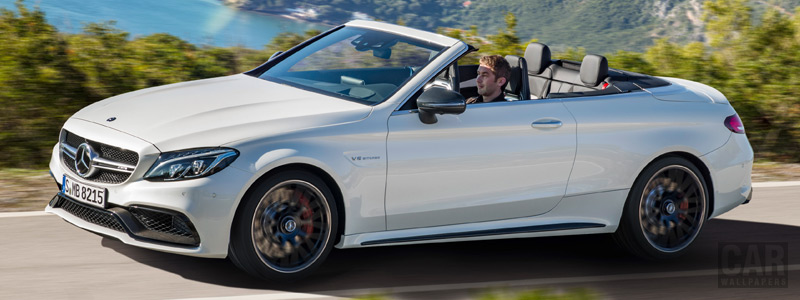 Обои автомобили Mercedes-AMG C 63 S Cabriolet - 2016 - Car wallpapers