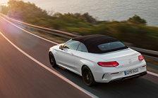 Обои автомобили Mercedes-AMG C 63 S Cabriolet - 2016