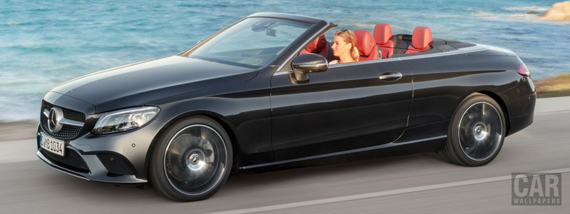 Обои автомобили Mercedes-AMG C 43 4MATIC Cabriolet - 2018 - Car wallpapers