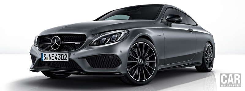 Обои автомобили Mercedes-AMG C 43 4MATIC Coupe Night Edition - 2017 - Car wallpapers