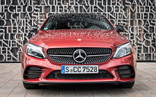 Обои автомобили Mercedes-Benz C 400 4MATIC Coupe AMG Line - 2018