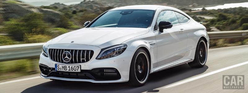 Обои автомобили Mercedes-AMG C 63 S Coupe - 2018 - Car wallpapers