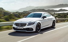 Обои автомобили Mercedes-AMG C 63 S Coupe - 2018