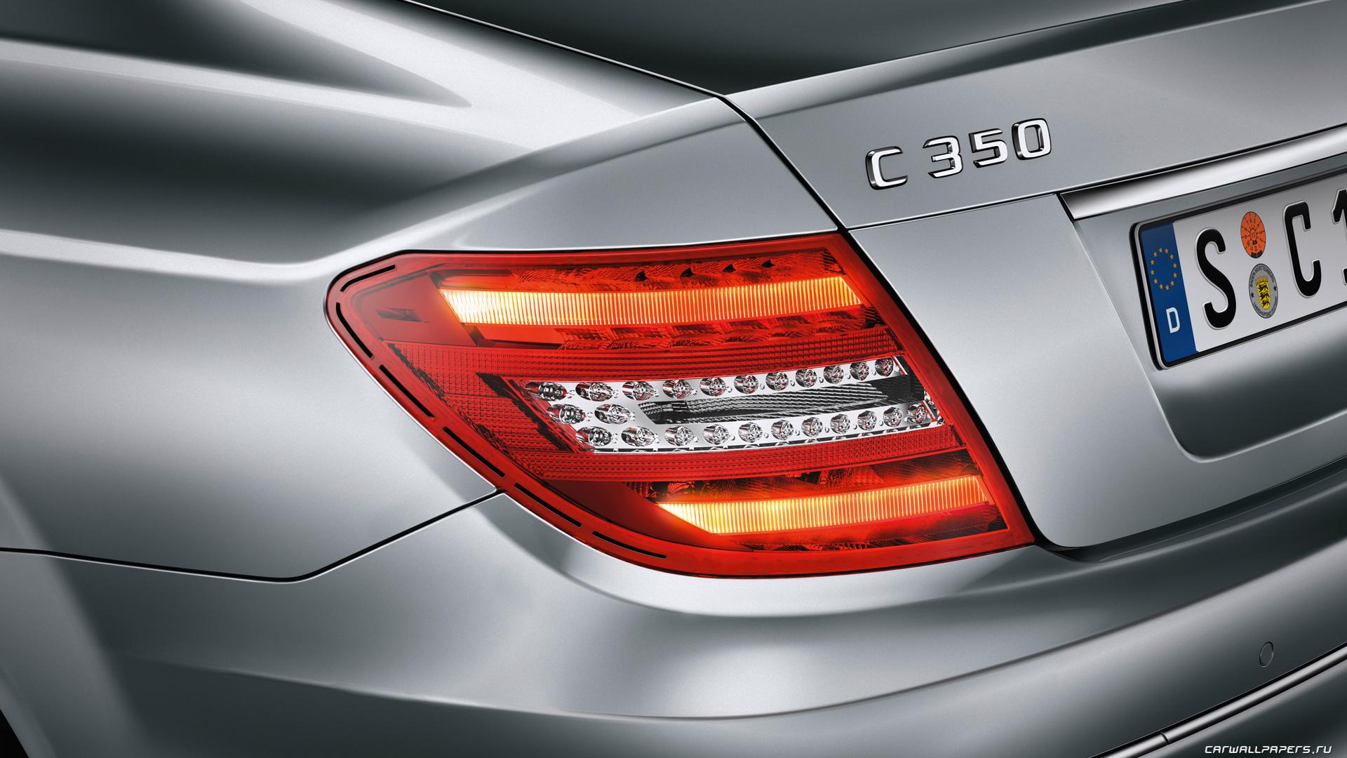 Cars desktop wallpapers Mercedes-Benz C350 - 2011
