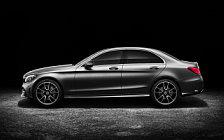 Обои автомобили Mercedes-Benz C-class AMG Line - 2018