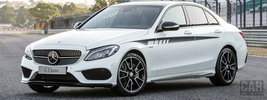 Mercedes-Benz C-class Exclusive AMG Accessories - 2015