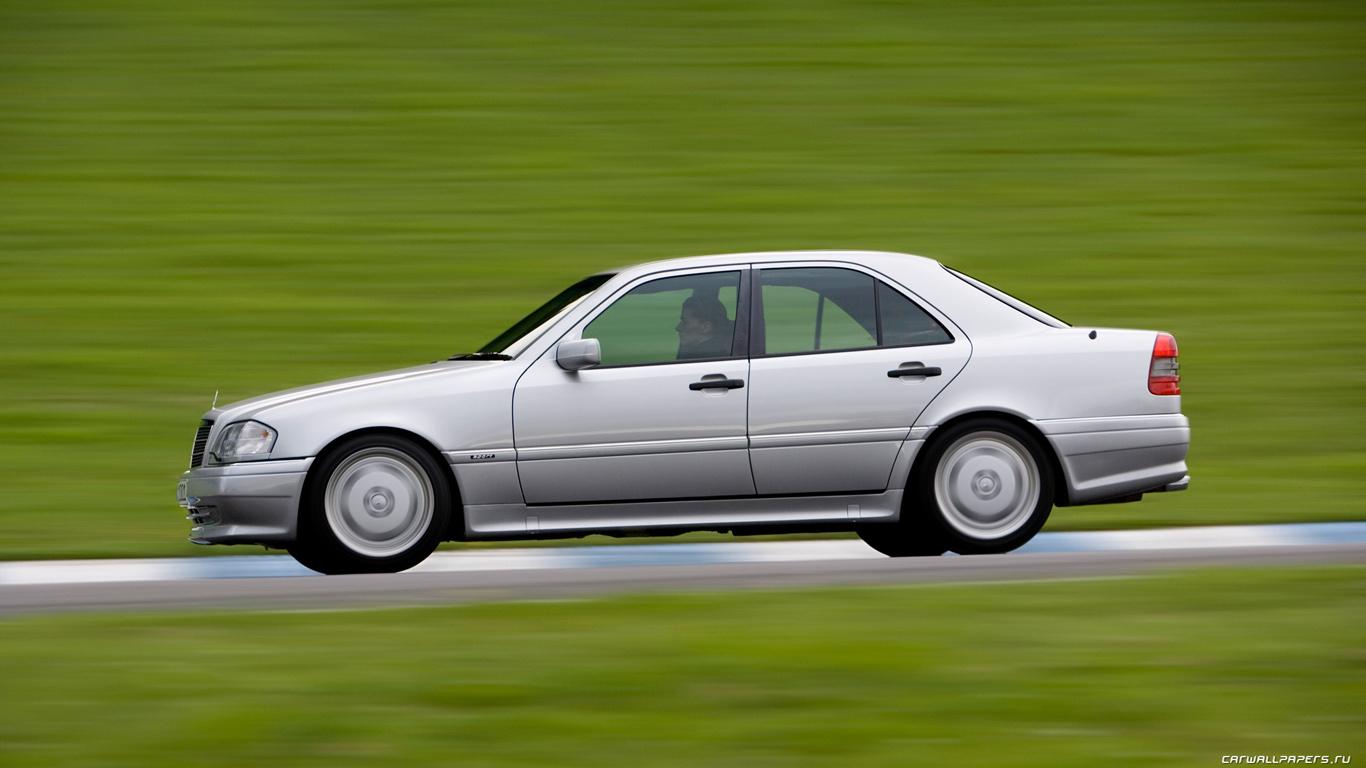 Cars desktop wallpapers Mercedes-Benz C36 AMG w202