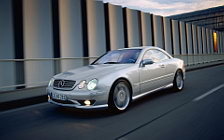 Обои автомобили Mercedes-Benz CL55 AMG F1 Limited Edition - 2000