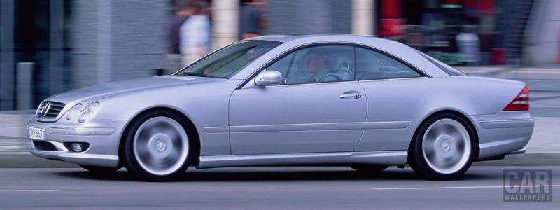 Обои автомобили Mercedes-Benz CL55 AMG - 2000 - Car wallpapers