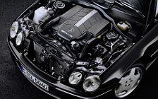 Обои автомобили Mercedes-Benz CL55 AMG - 2000