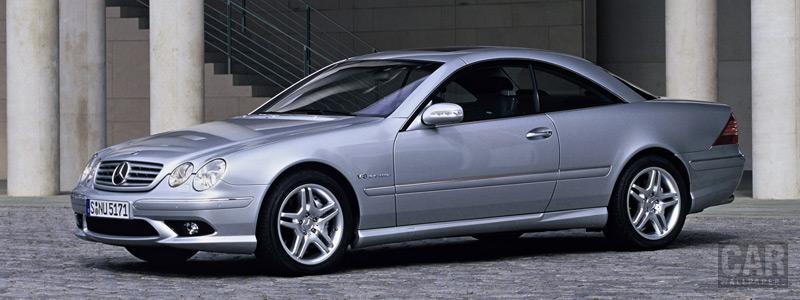 Обои автомобили Mercedes-Benz CL55 AMG - 2002 - Car wallpapers