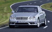 Обои автомобили Mercedes-Benz CL55 AMG - 2002