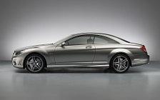 Обои автомобили Mercedes-Benz CL65 AMG 40th Anniversary Edition - 2007