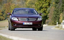 Обои автомобили Mercedes-Benz CL500 4MATIC - 2008