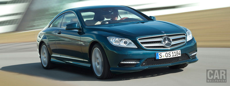 Обои автомобили Mercedes-Benz CL500 4MATIC BlueEFFICIENCY - 2010 - Car wallpapers