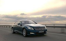 Обои автомобили Mercedes-Benz CL500 4MATIC BlueEFFICIENCY - 2010