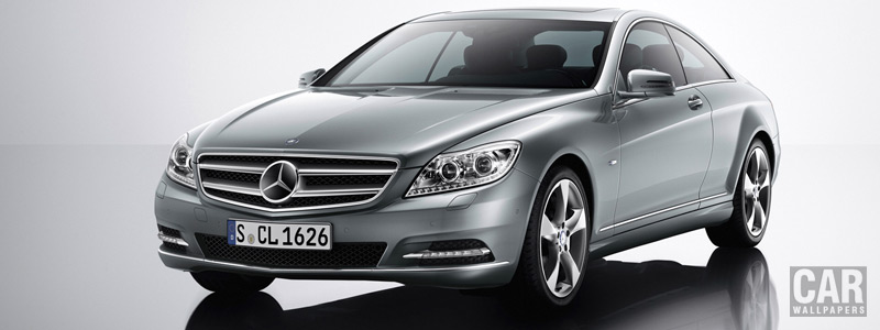 Обои автомобили Mercedes-Benz CL500 4MATIC - 2010 - Car wallpapers