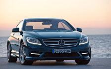 Обои автомобили Mercedes-Benz CL500 4MATIC - 2010