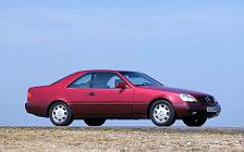 Обои автомобили Mercedes-Benz S-class Coupe 140-series