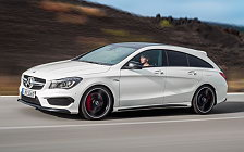 Обои автомобили Mercedes-AMG CLA45 Shooting Brake - 2015