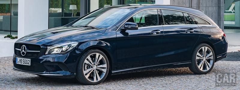 Обои автомобили Mercedes-Benz CLA 250 4MATIC Shooting Brake - 2016 - Car wallpapers