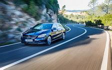 Обои автомобили Mercedes-Benz CLA 250 4MATIC Shooting Brake - 2016
