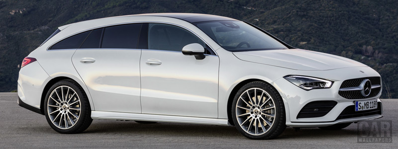 Обои автомобили Mercedes-Benz CLA Shooting Brake AMG Line - 2019 - Car wallpapers