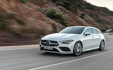 Обои автомобили Mercedes-Benz CLA Shooting Brake AMG Line - 2019
