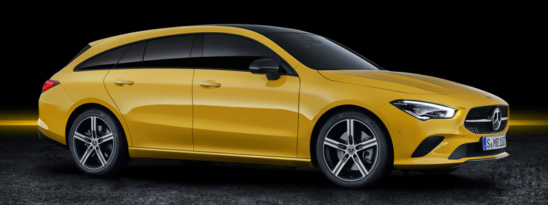 Обои автомобили Mercedes-Benz CLA Shooting Brake - 2019 - Car wallpapers