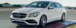 Mercedes-AMG CLA 45 4MATIC Shooting Brake - 2016
